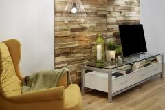 Holzpaneele - TeakYourWall - Rayab - Wohnzimmer