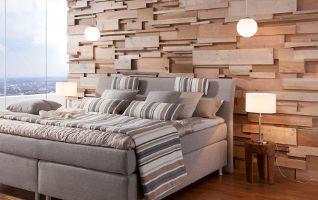 Holzwände als Wandverkleidung